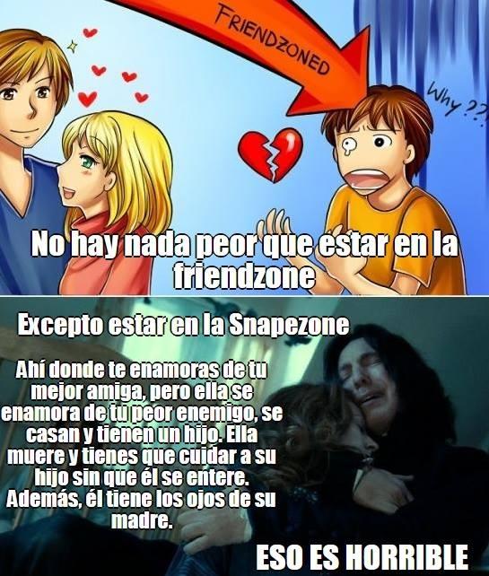 Meme_otros - ¿Algo mucho peor que la friendzone? Sí, la Snapezone...
