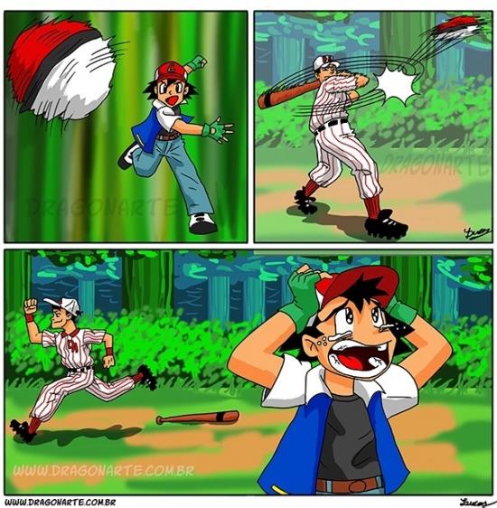 Otros - Y por eso no hay entrenadores Pokémon rivales que jueguen a baseball
