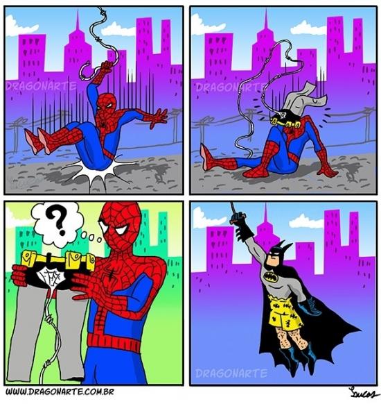 Otros - Y por eso es mejor que no hayan más de dos superhéroes en la misma ciudad