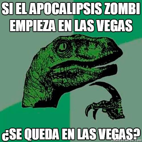 Philosoraptor - Lo que pasa en Las Vegas, se queda en Las Vegas
