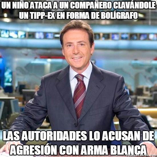 Meme_matias - La peor arma blanca de todas