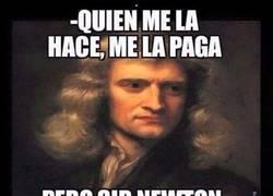 Enlace a Newton, el vengativo