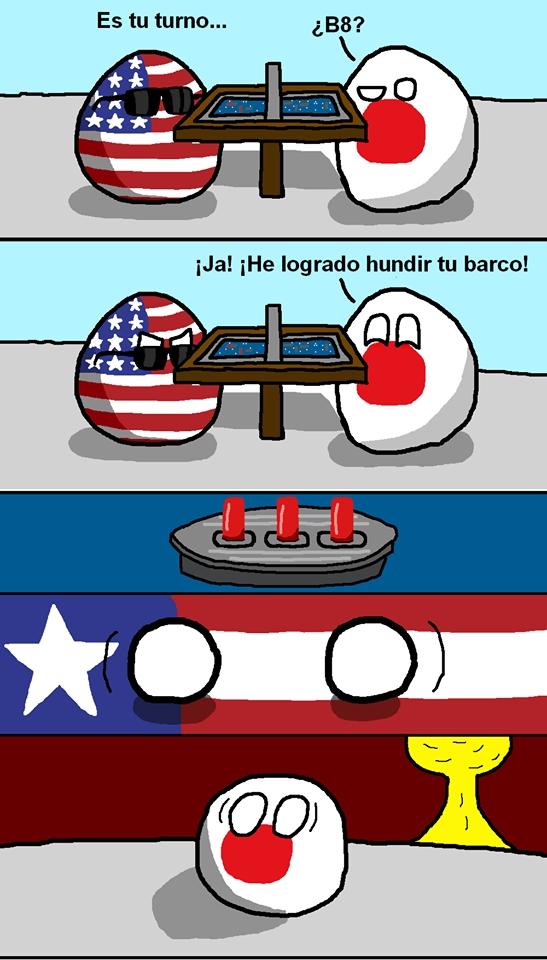 Otros - Y así fue más o menos la Segunda Guerra Mundial entre USA y Japón