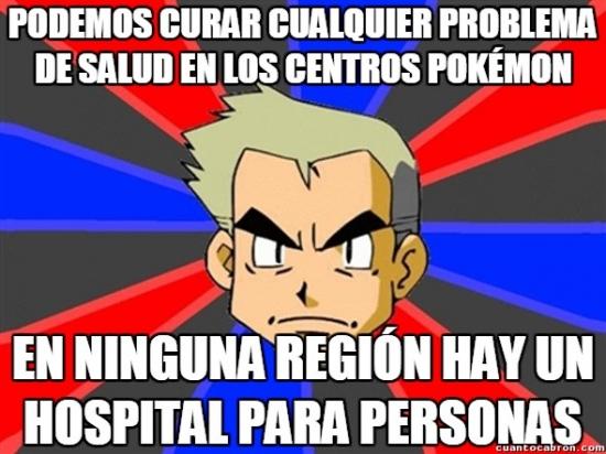 Profesor_oak - Mucho Centro Pokémon, ¿pero y las personas qué?
