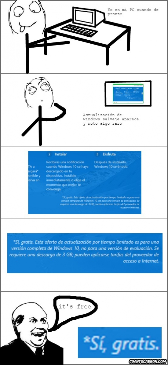Its_free - ¿Actualización GRATIS de sistema operativo?