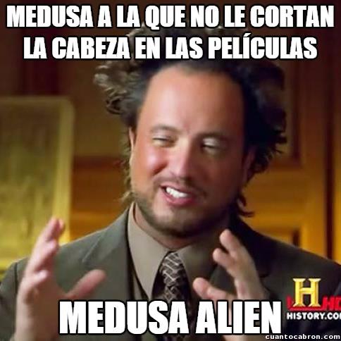 Ancient_aliens - Medusa es la Krillin de las pelis basadas en la mitología griega