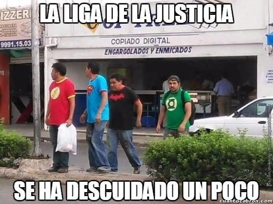 Meme_otros - ¿Pero qué le ha pasado a La Liga de la Justicia?