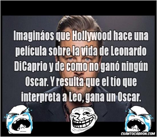 Trollface - ¡Leonardo DiCaprio se merece un Oscar!