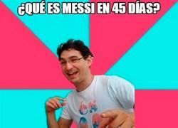 Enlace a Creo que es el momento de hacer un chiste sobre Messi