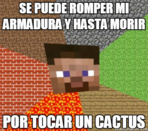 Minecraft - El cactus más mortífero del mundo