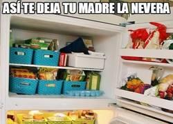Enlace a Cuando tu madre se va por ahí un fin de semana y te deja comida para un año...