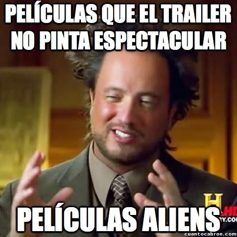 Ancient_aliens - Películas, ¿por qué el trailer es tan diferente de la realidad?