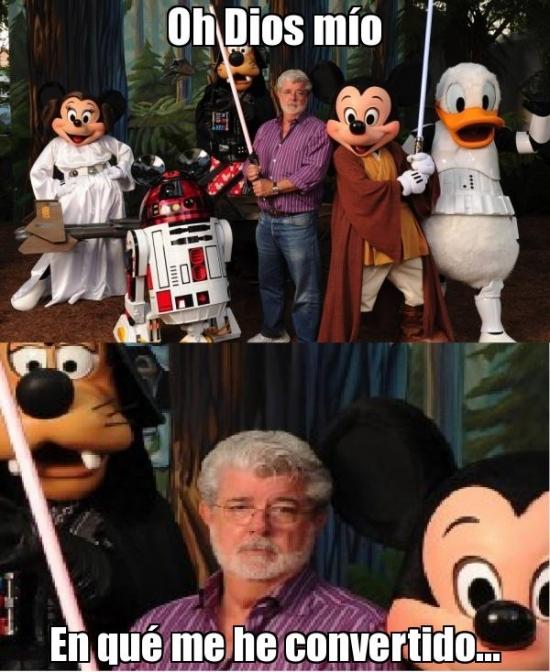 Meme_mix - George Lucas ya no es el mismo