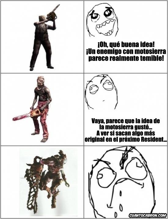 Otros - Resident Evil y las motosierras