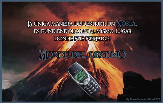 Meme_otros - ¡Un Nokia para gobernarlos a todos!