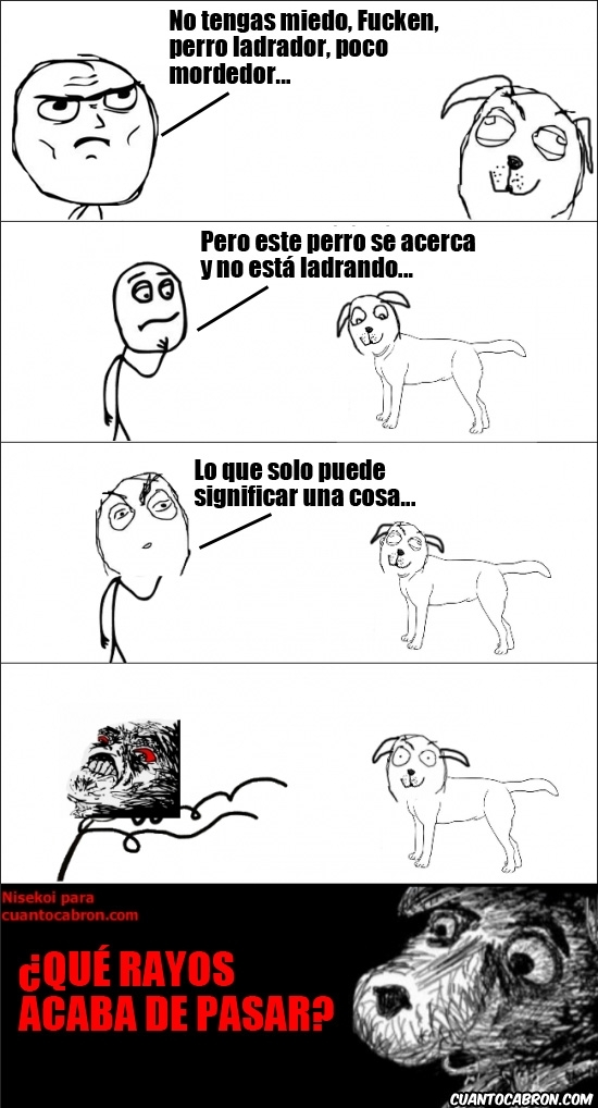 Inglip - Perro ladrador, poco mordedor