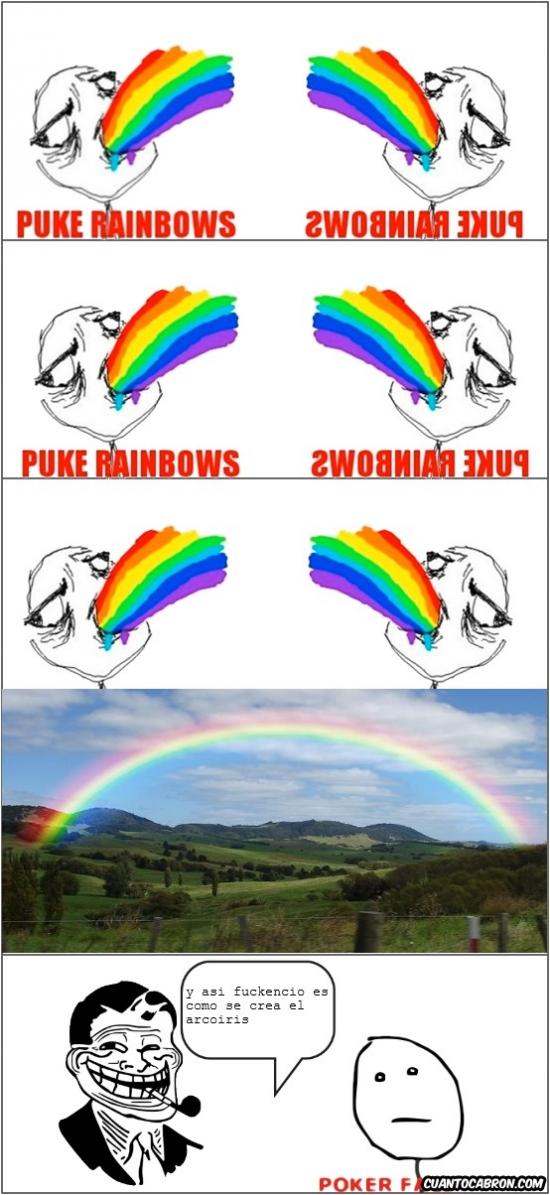 Puke_rainbows - Así nacen los arcoíris
