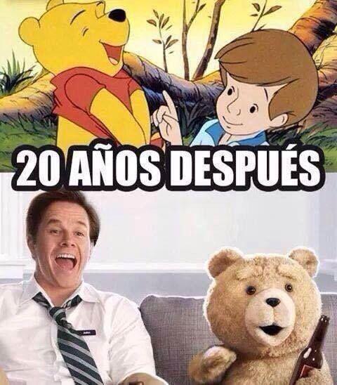 Meme_otros - Ahora entiendo de dónde me sonaba la historia del oso Ted