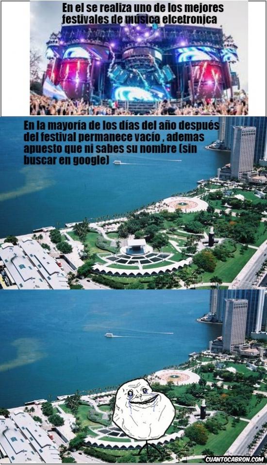 Forever_alone - ¿A alguien le suena este parque de Miami?