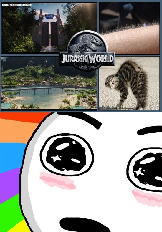 Amazed - ¡Este momento Nostálgico, Glorioso e Inolvidable cuando abren las puertas de Jurassic World!