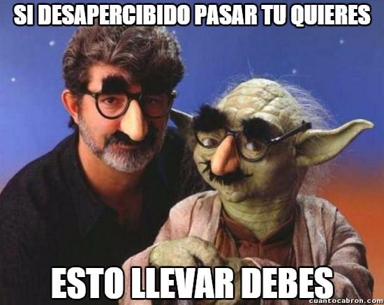 Meme_otros - Yoda, maestro del disfraz