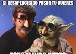 Enlace a Yoda, maestro del disfraz