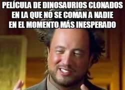 Enlace a Dinosaurios devora-personas, no pueden faltar