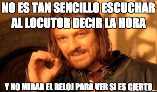 Boromir - El locutor...