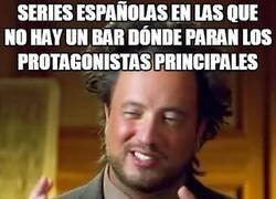Enlace a Hay algo que no puede faltar en casi ninguna serie española