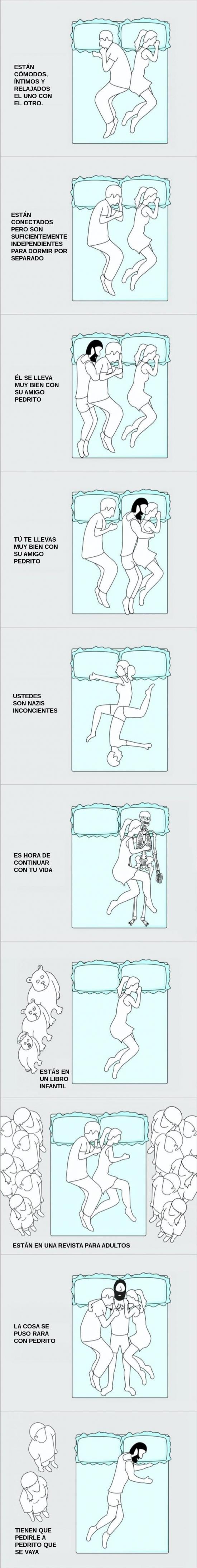 Otros - Las diferentes posiciones para dormir
