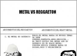 Enlace a Metal vs. Reggaeton, una batalla realmente fácil