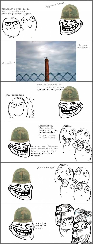 Trollface - Problem, comandantes trolls?