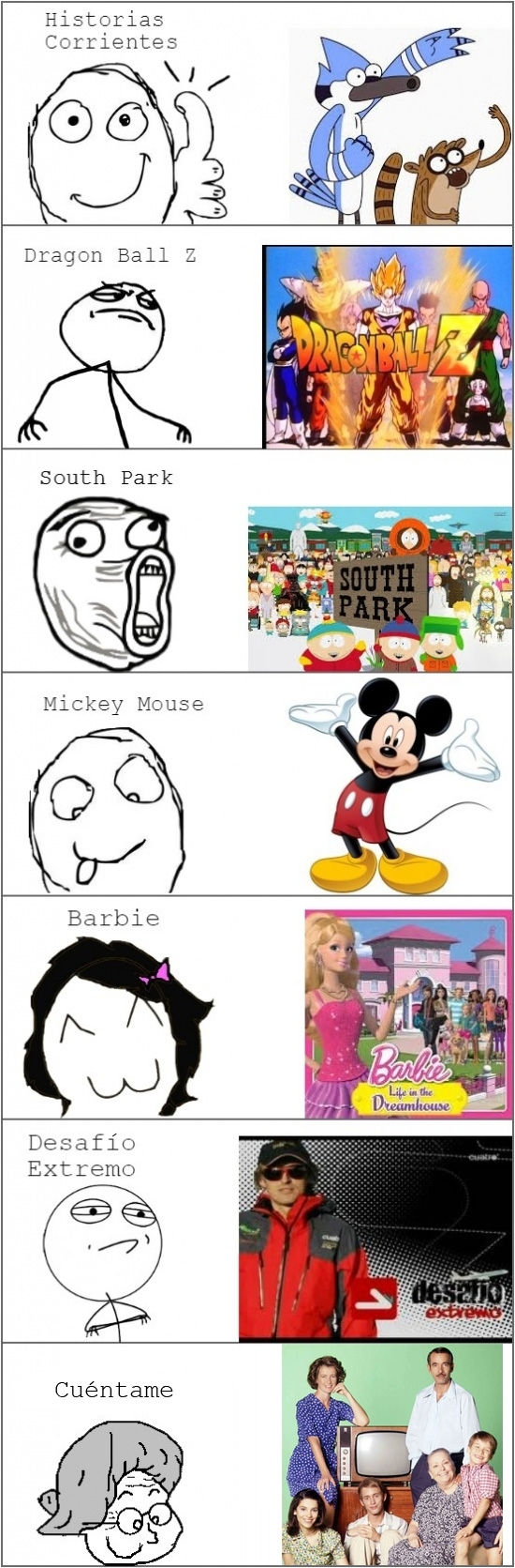 Mix - Todo meme tiene su programa de tele favorito