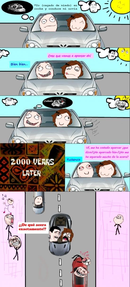 Yao - ¡Sí cariño, muy bien aparcado!