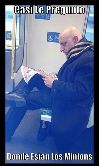 A_nadie_le_importa - Espera, yo he visto a este tío en alguna peli...