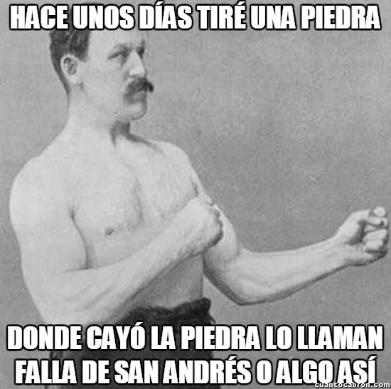 Overly_manly_man - Ya sabemos quién inspiró la peli de San Andrés