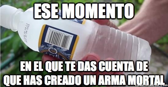 Meme_otros - El peligro de una botella congelada