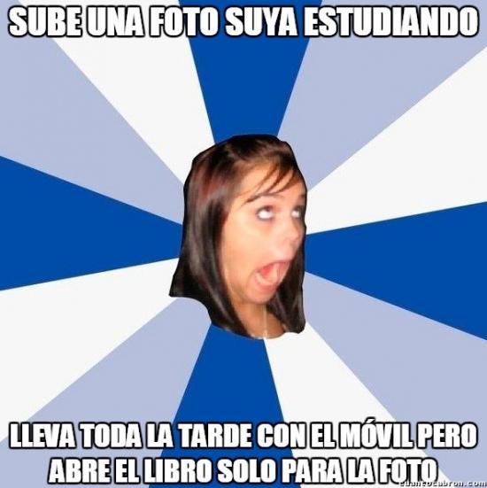Amiga_facebook_molesta - El postureo estudiantil más extremo