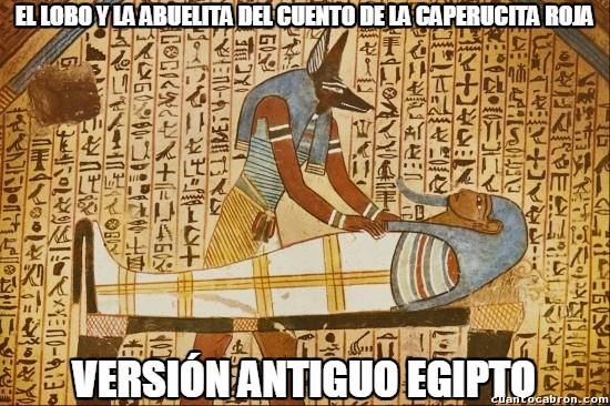 Meme_otros - El cuento de la caperucita roja ya era conocido en la antigüedad en otros países y culturas