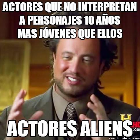 Ancient_aliens - El problema de los actores con su edad y la de sus personajes