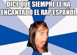 Enlace a El postureo de algunas con el rap español