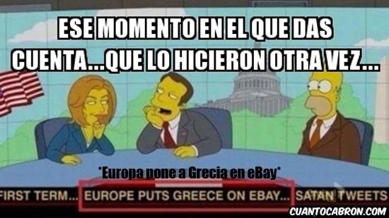 Meme_otros - Se vende Grecia, razón aquí