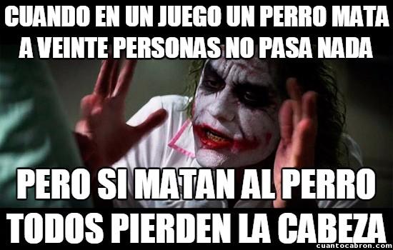 Joker - ¡A los perros no se les toca, ni en la vida real ni en la ficción!