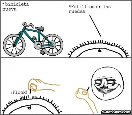 Me_gusta - Los 'pelillos' de las ruedas