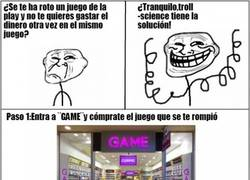 Enlace a Trolleando en GAME