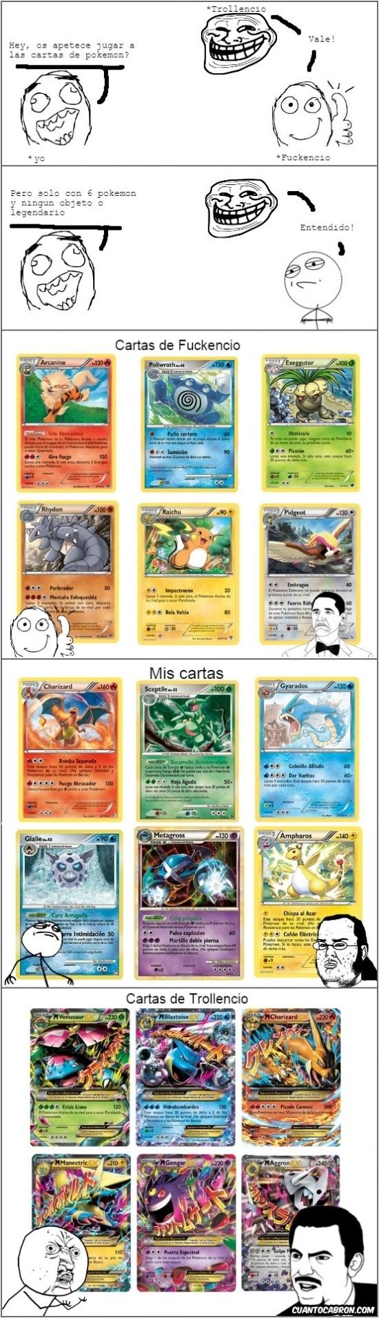 Y_u_no - Con las nuevas cartas Pokémon ya no se puede ganar