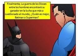 Enlace a Superman es superior a Batman en todos los aspectos, excepto en el ingenio