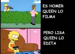 Enlace a Lisa Simpson, la inocente