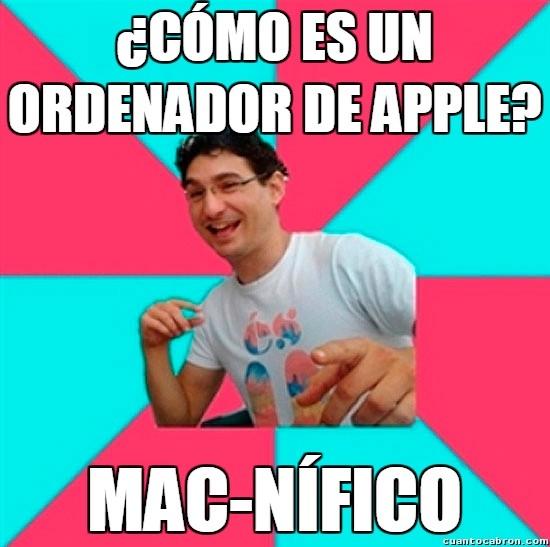 Bad_joke_deivid - Apple es excelente, no, espera, en realidad es...