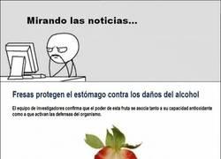 Enlace a Así que la solución está en las fresas...